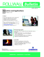 RollwayBulletin Industriesand Applications