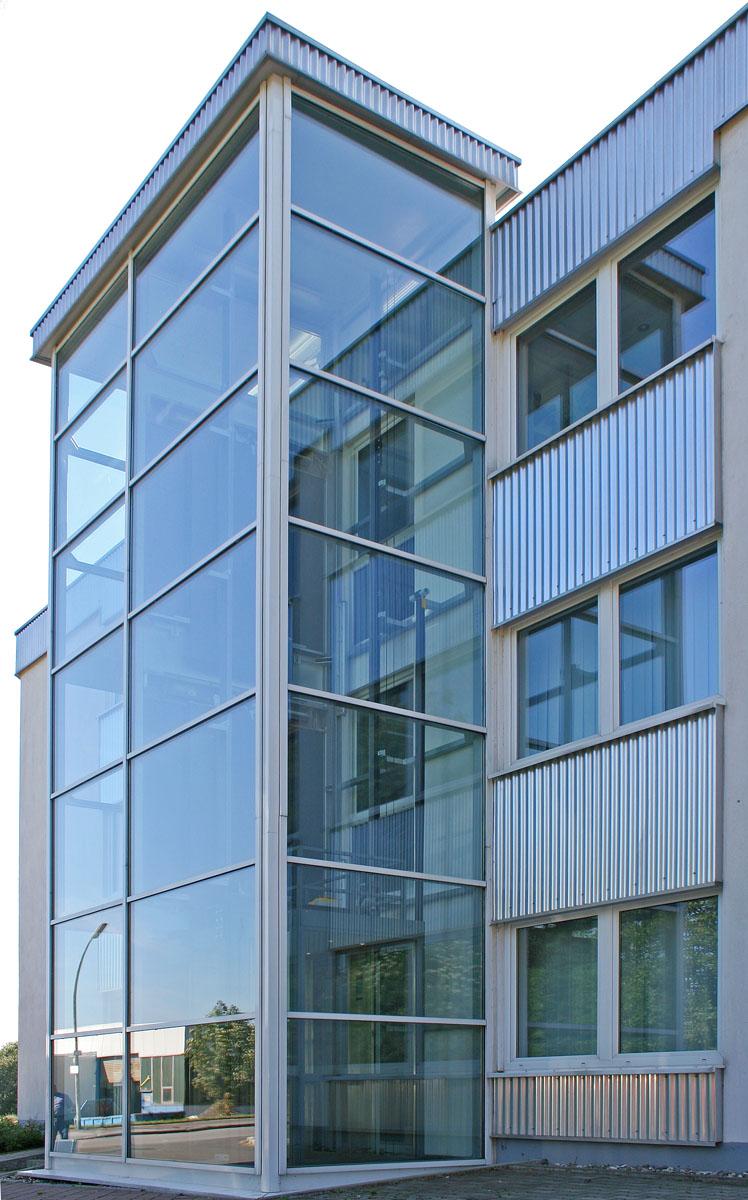Gede Firmengebäude Eingang-Standort Hemer