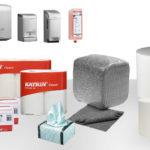 GeDe-Rollen- und Rollenspender-Putzpapier-Putztücher-reinigen-Industriebedarf