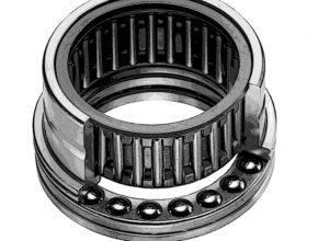 Nadel-Axial-Rillenkugellager / Nadel-Axial-Zylinderrollenlager