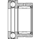Nadel-Axial-Rillenkugellager