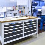 GeDe-Werkbänke - Werkstattwagen-Industriebedarf